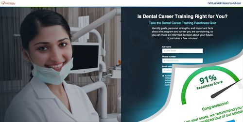 American Institute of Dental Assisting Virtual Asmissions Advisor